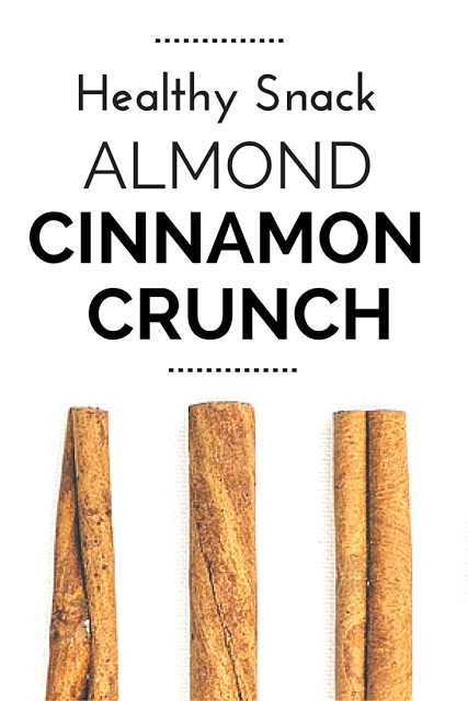 Try this easy, healthy and yummy snack recipe full of protein and antioxidants that you can make ahead and it keeps for weeks! It features lots of crunch with a bit of sweet and a kick from the healthy type of cinnamon that you can learn all about here.