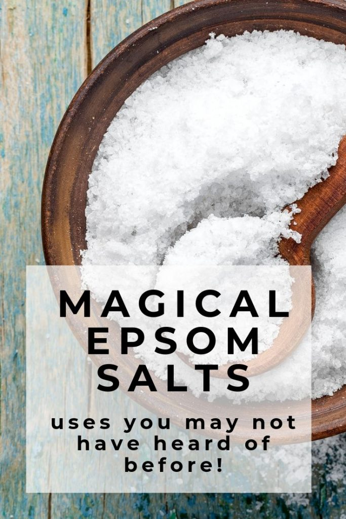 Tap here to find new uses for Epsom Salts you may not have heard before! Epsom Salts are not only for bath time but a great first aide kit item, sleep aide, body scrub and lots more! #firstaide #sleepaide #epsomsalts #bath