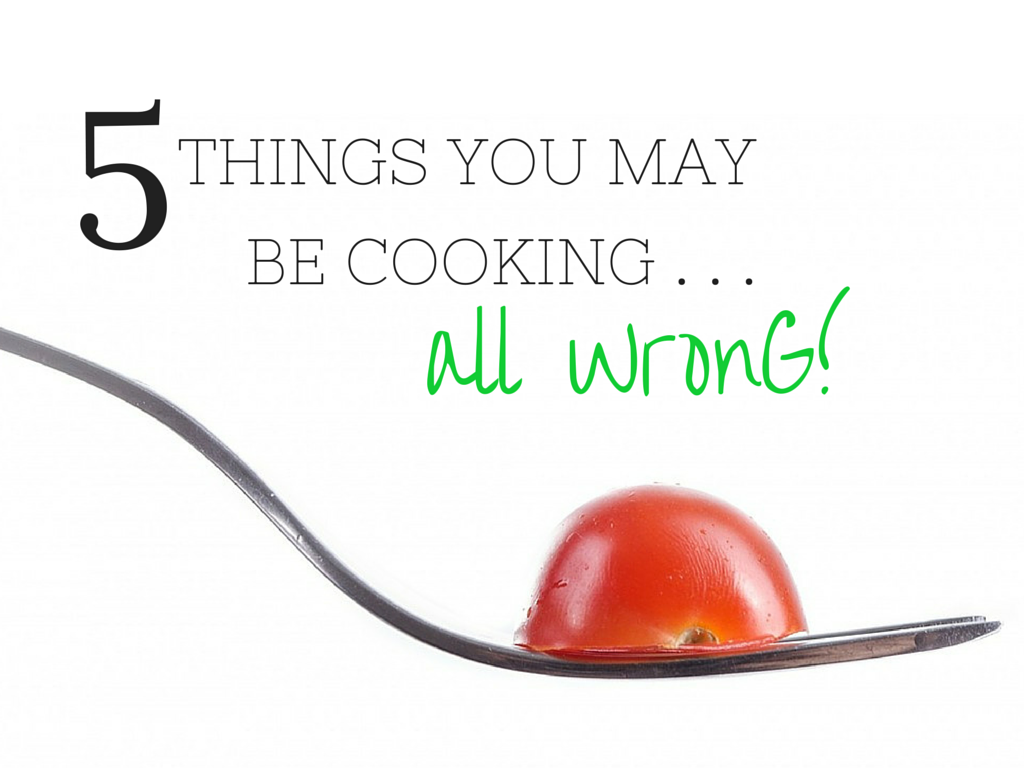 Nutrients can be lost in cooking. Find 5 Foods You May Be Cooking The Wrong Way (via TheHealthMinded.com)