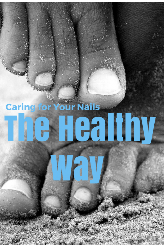 How to care for your nails the healthy way! Great tips for easy, beautiful, healthy nails. (TheHealthMinded.com) #beauty #health
