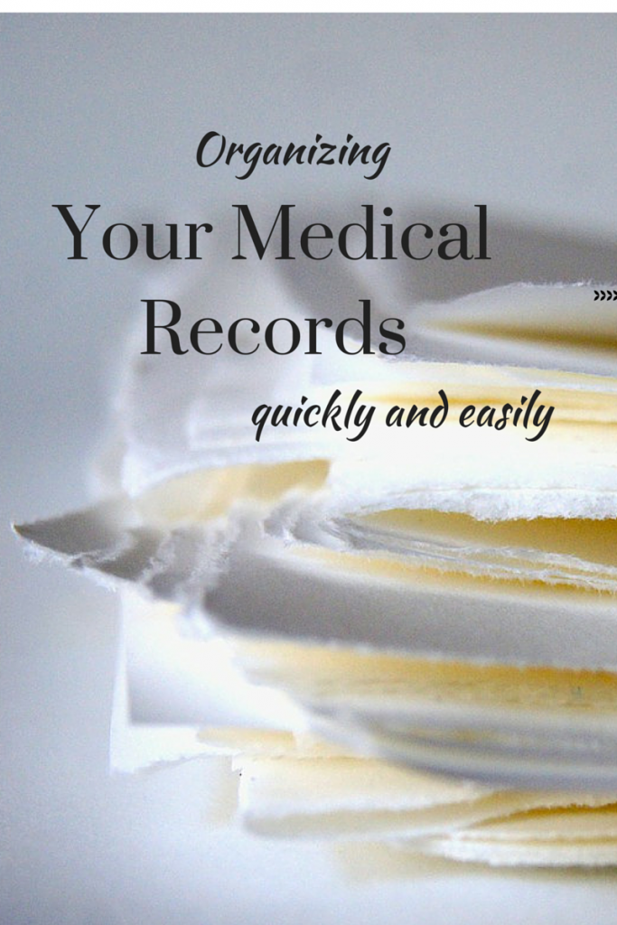 Lots of easy choices and tips to get your medical records straight for the safety of you and your family. (The Health-Minded.com) #health #family