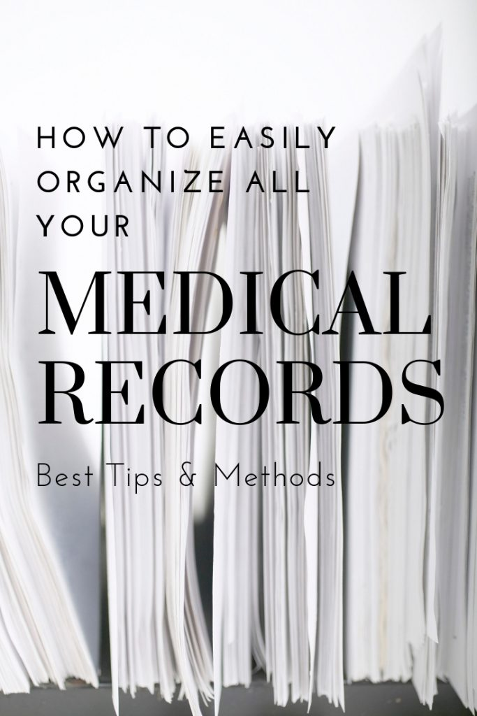 Keeping your medical records updated and organized are critical for best health. Tap here for help to organize all your medical records - what to keep, what to toss, and best methods and tips! #organizationaltips #filingtips #organizationalsystems #clutterfree