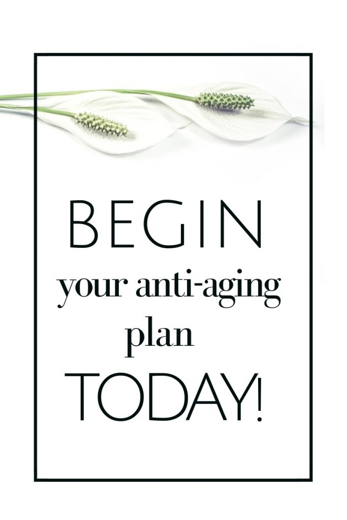 Begin forming your anti-aging plan today with these easy 9 daily habits to form now to enjoy a more vibrant, healthy life for years to come! #antiaging #dailyhabits #healthyhabits #healthyroutines
