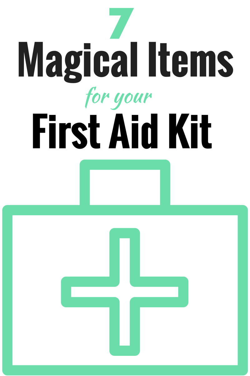 7 MAGICAL EXTRAS TO ADD TO YOUR FIRST AID KIT - The Health