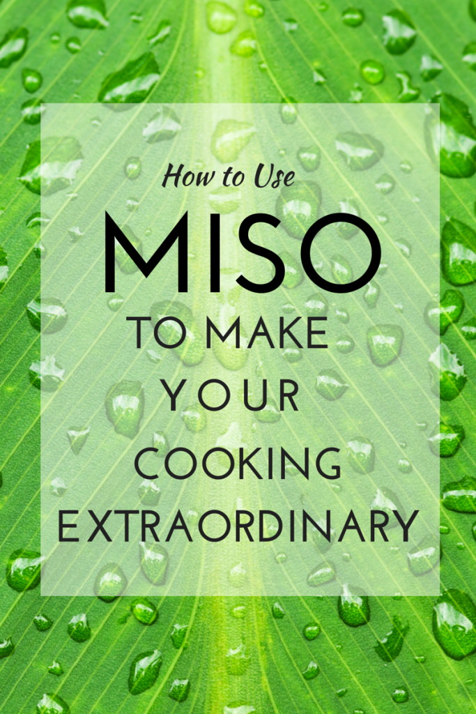 Try miso to make your cooking come alive. Find out why it is healthy and try some of these recipes to use it. (TheHealthMinded.com) #cooking