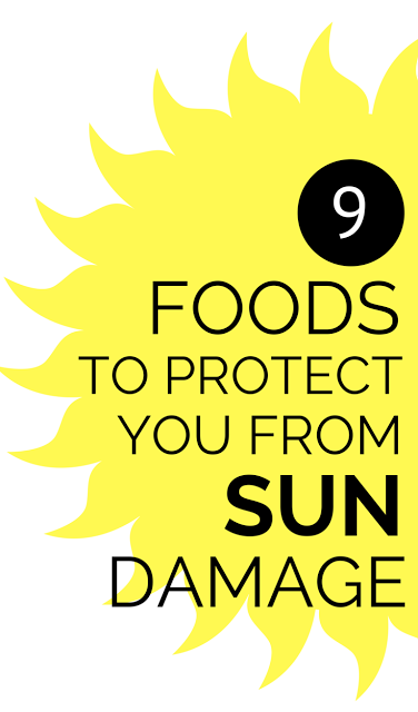 Learn all about a natural way to protect your skin from sun damage and keep it beautiful - FOOD! Yup! Eat your way to less sun damage and more picture perfect, glowy, firmer skin.