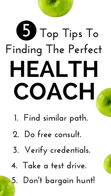 Free advice here from an award-winning health coach on living healthy, losing weight, health coaching and much more! Enter to win her FREE BOOK, too!