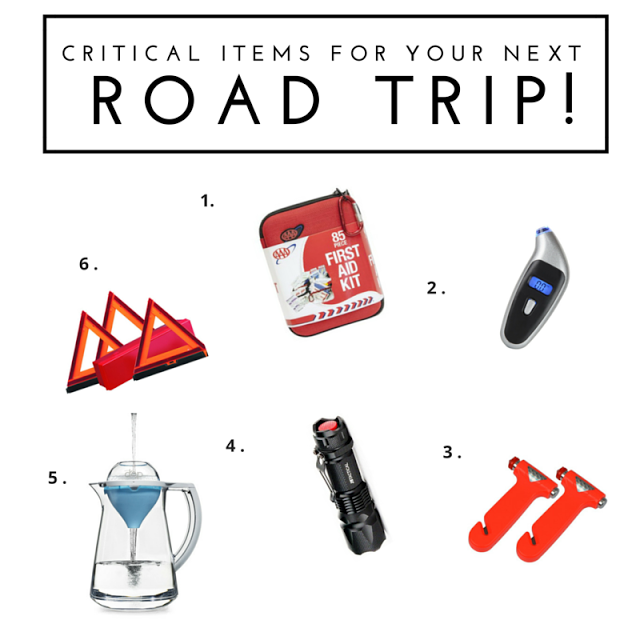 Is your car well-equiped for road trips and driving around town? Tap here for critical items you need to keep in your trunk to avoid disaster!