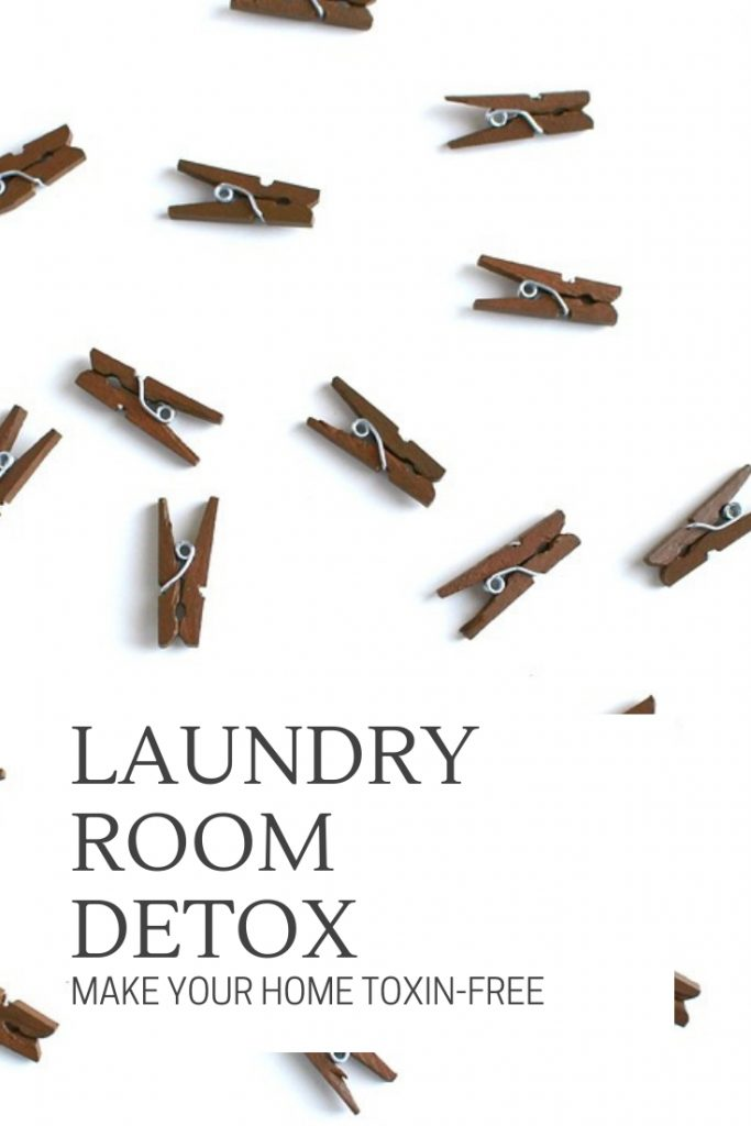 Make your home toxin-free with this laid out plan to cleanse your laundry room. Specific products, research and links all here.